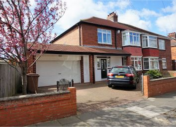 Thumbnail 4 bed semi-detached house for sale in Eastward Green, Whitley Bay