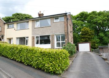 Thumbnail 3 bed semi-detached house for sale in Sunhurst Drive, Oakworth, West Yorkshire