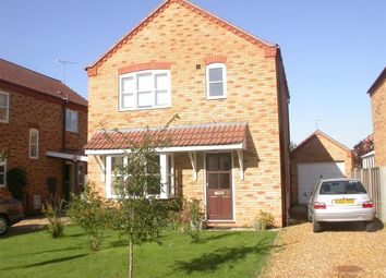 Thumbnail 3 bed detached house to rent in Kerrich Close, Dersingham, King's Lynn