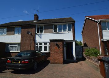 Thumbnail 3 bedroom semi-detached house for sale in Lansbury Avenue, Chadwell Heath, Romford, Essex