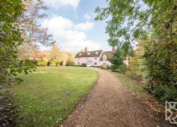 Thumbnail 5 bedroom detached house for sale in Pettistree, The Street, Woodbridge