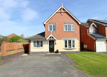 Thumbnail 3 bed detached house for sale in Garnett Close, Stapeley, Nantwich