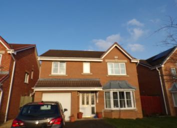 Thumbnail 4 bed detached house for sale in Chatsworth Drive, Bedlington