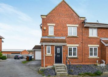 Thumbnail 3 bed semi-detached house for sale in Dovestone Way, Kingswood, Hull