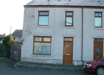 Thumbnail 2 bed end terrace house to rent in Gladys Street, Aberavon