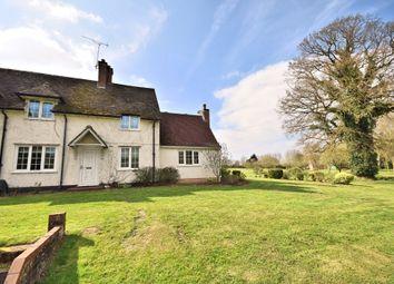Thumbnail 2 bed semi-detached house for sale in Weston Road, Weston Longville, Norwich