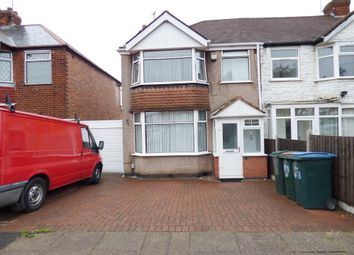 Thumbnail 3 bed end terrace house for sale in Rotherham Road, Holbrooks, Coventry