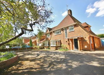 Thumbnail 4 bed detached house for sale in Bagshot Road, Englefield Green, Surrey
