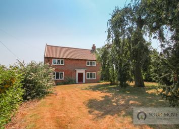 Thumbnail 3 bed detached house for sale in Low Road, Norton Subcourse, Norwich