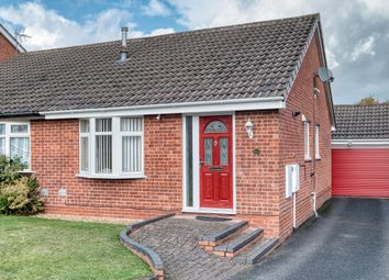 Thumbnail 2 bed semi-detached bungalow for sale in Tidbury Close, Walkwood, Redditch