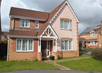 Thumbnail 4 bed detached house for sale in Nordens Meadow, Wiveliscombe, Taunton, Somerset