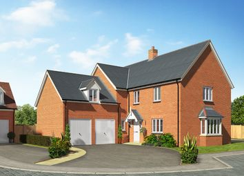 Thumbnail 5 bed detached house for sale in Oak View, Shadoxhurst, Ashford
