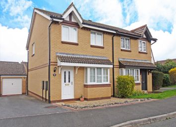 Thumbnail 3 bed semi-detached house for sale in Penny Close, Exminster, Exeter
