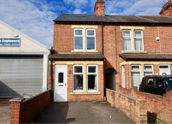 Thumbnail 3 bed end terrace house for sale in Beeches Road, Loughborough