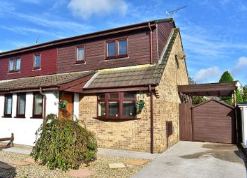 Thumbnail 3 bed semi-detached house for sale in Gregory Close, Pencoed, Bridgend .