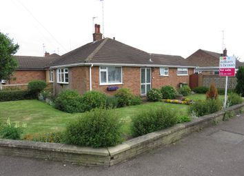 Thumbnail 2 bed semi-detached bungalow for sale in Lubbesthorpe Road, Braunstone Town, Leicester