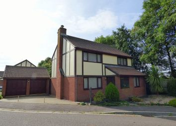 Thumbnail 4 bed detached house for sale in Westwood Close, Worle, Weston-Super-Mare