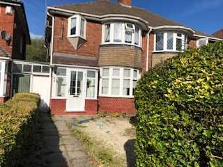 Thumbnail 3 bed semi-detached house to rent in Kings Road, Kingstanding, Birmingham