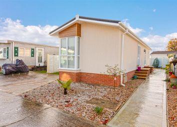 Thumbnail 2 bed mobile/park home for sale in Aldingbourne Park, Hook Lane, Aldingbourne, Chichester