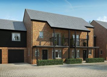 "Thumbnail 3 bed semi-detached house for sale in ""The Farleigh"" at Andover Road North, Winchester"