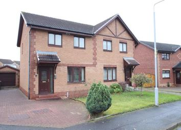Thumbnail 3 bed semi-detached house for sale in Conservation Place, Wishaw, North Lanarkshire