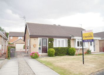 Thumbnail 2 bed semi-detached house for sale in Turnberry Drive, York
