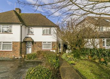 Thumbnail 3 bed maisonette for sale in Shawley Crescent, Epsom, Surrey