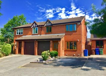 Thumbnail 3 bed semi-detached house for sale in Yew Tree Close, Chorley, Lancashire
