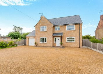Thumbnail 4 bed detached house for sale in High Road, Guyhirn, Wisbech