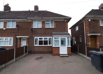 Thumbnail 3 bed end terrace house for sale in Amington Road, Yardley, Birmingham