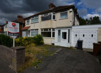 Thumbnail 3 bed semi-detached house for sale in Old Heath Road, Wolverhampton