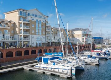 Hamilton Quay, Eastbourne, Sovereign Harbour BN23. 4 bed flat