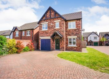 Thumbnail 4 bed detached house for sale in Vallum Gardens, Carlisle