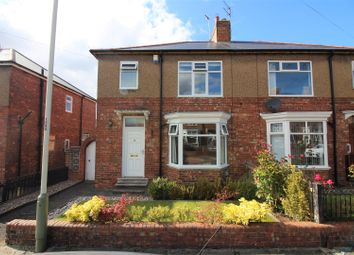 Thumbnail 3 bed semi-detached house for sale in Newlands Road, Darlington