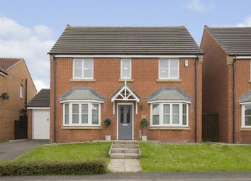 Thumbnail 4 bed detached house for sale in Newbell Court, Consett