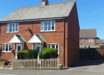Thumbnail 2 bed semi-detached house for sale in Putton Lane, Chickerell, Weymouth