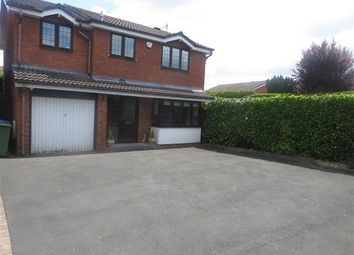 Thumbnail 4 bed detached house to rent in Lytham Road, Perton, Wolverhampton