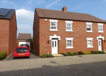 Thumbnail 4 bed semi-detached house for sale in Midsummer Grove, Great Denham, Bedford