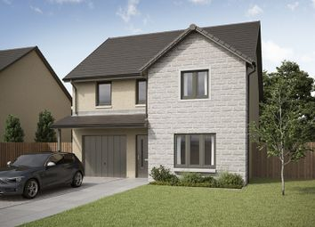 Thumbnail 4 bedroom detached house for sale in Peregrine Drive, Inverurie