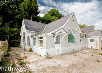 Thumbnail 4 bed detached bungalow for sale in Snatchwood Road, Abersychan, Pontypool