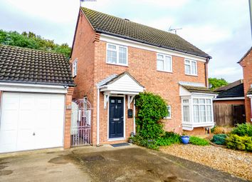 Thumbnail 4 bed detached house for sale in Denton Close, Kempston, Bedford