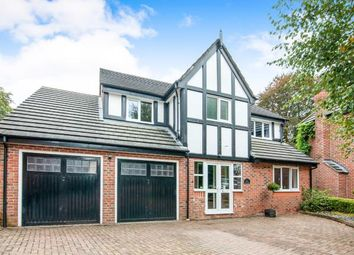 Thumbnail 5 bed detached house for sale in Kershaw Grove, Macclesfield, Cheshire