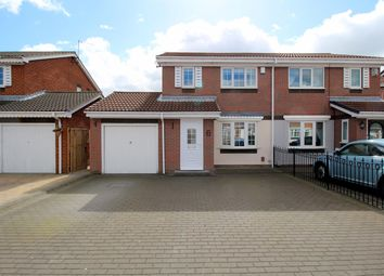 Thumbnail 3 bedroom semi-detached house for sale in Kirkwall Close, Fulford Grange, Sunderland
