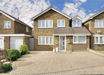 Thumbnail 4 bed detached house for sale in Weston Court, Eaton Ford, St. Neots, Cambridgeshire