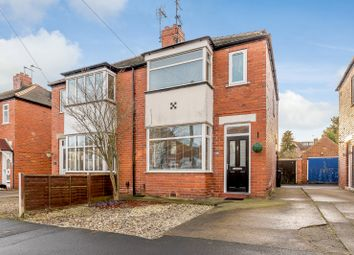Thumbnail 2 bed semi-detached house for sale in 35 Langholme Drive, York, North Yorkshire