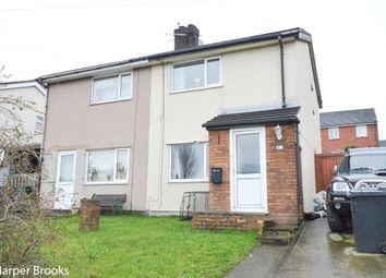 Thumbnail 2 bed semi-detached house for sale in Pentregwyddel Road, Llysfaen, Colwyn Bay