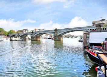 Thumbnail 1 bed houseboat for sale in Burgoine Quay, Lower Teddington Road, Kingston Upon Thames