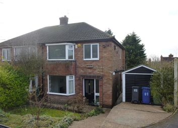 Thumbnail 3 bed semi-detached house for sale in Mayflower Close, Gainsborough