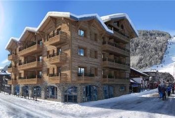 Thumbnail 4 bed apartment for sale in Le Carlina, Morzine, France