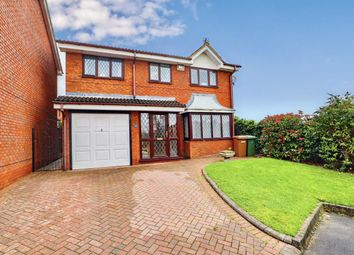 Thumbnail 4 bed detached house for sale in Kestrel Grove, Willenhall